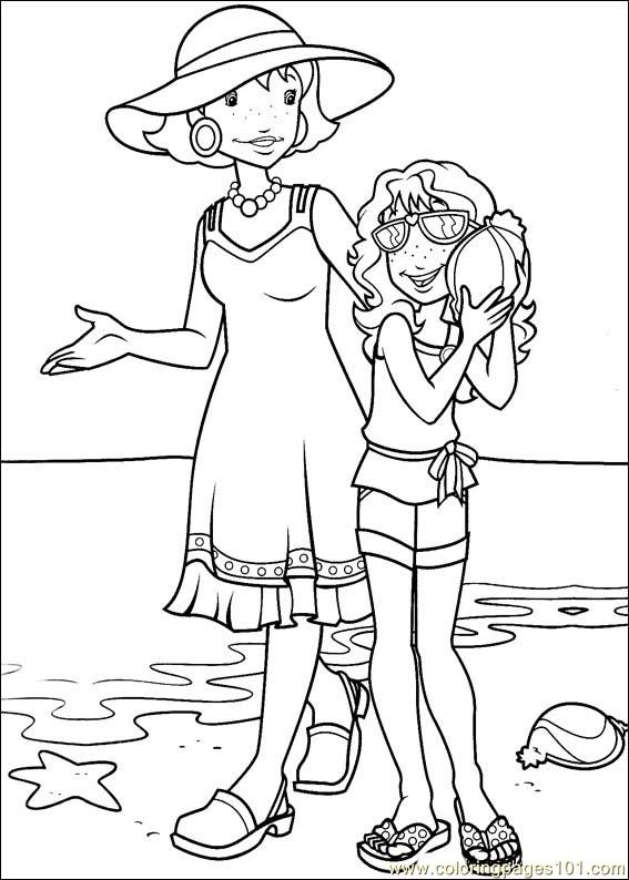 Holly Hobbie 12 Coloring Page