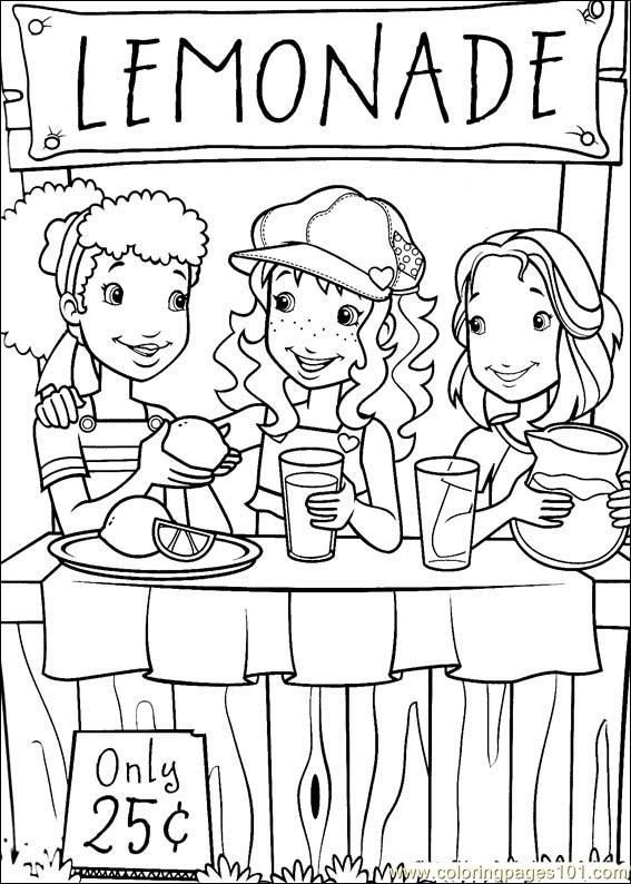 Holly Hobbie 17 Coloring Page