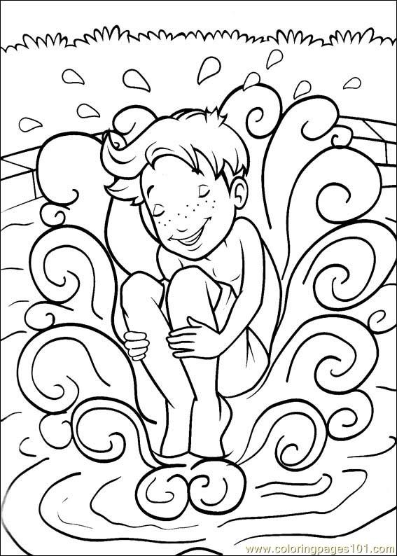 Holly Hobbie 28 Coloring Page