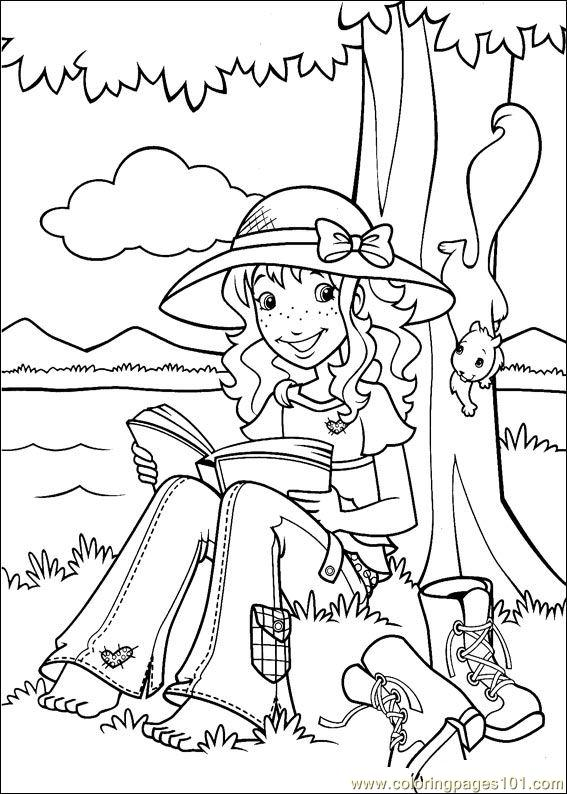 Holly Hobbie 31 Coloring Page
