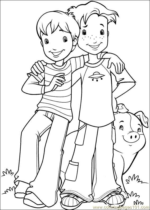 Holly Hobbie 45 Coloring Page