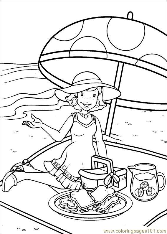 Holly Hobbie 46 Coloring Page