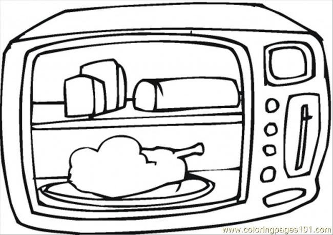 appliances television coloring pages - photo #11
