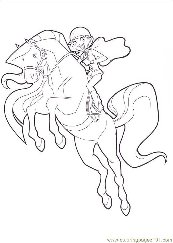 Horseland 10 Coloring Page - Free Horseland Coloring Pages ...