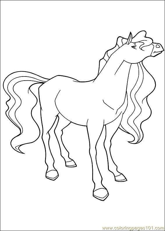 Horseland 13 Coloring Page