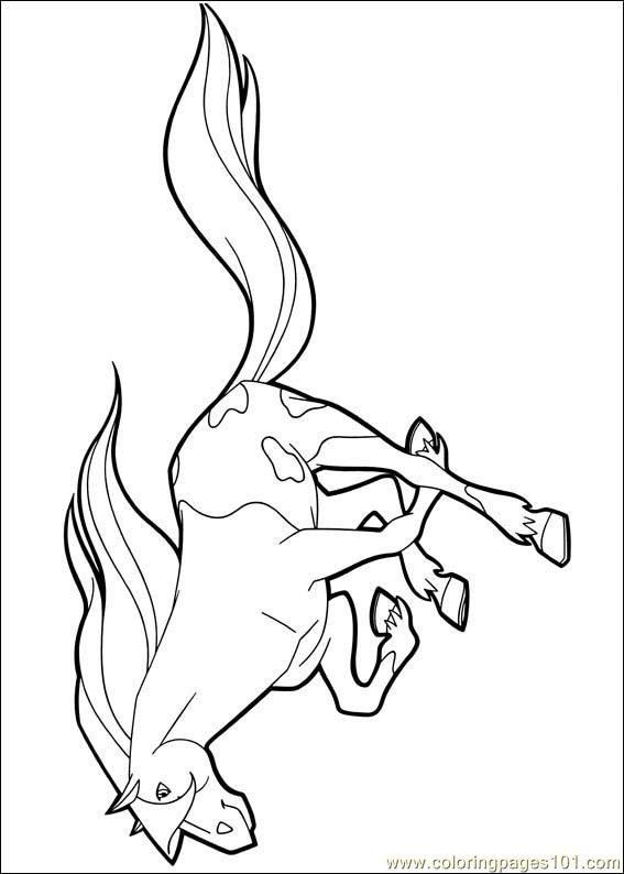 Horseland 19 Coloring Page Free Horseland Coloring Pages