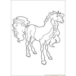 Horseland 06 coloring page