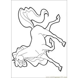 Horseland 09 coloring page