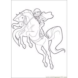 Horseland 10 coloring page