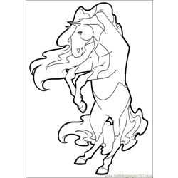 Horseland 14 Free Coloring Page for Kids