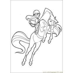 Horseland 16 coloring page