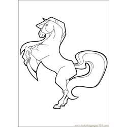 Horseland 20 Free Coloring Page for Kids