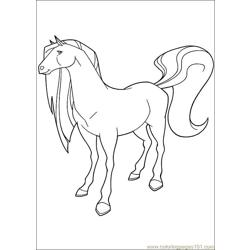 Horseland 22 Free Coloring Page for Kids