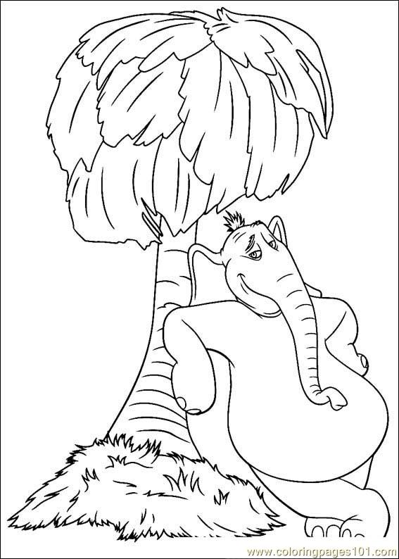 Horton 01(1) Coloring Page