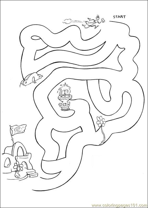 Horton 60 Coloring Page