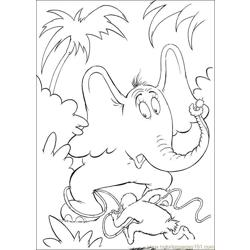 Horton 63 coloring page