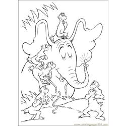 Horton 64 coloring page