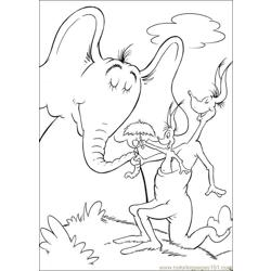 Horton 66 coloring page