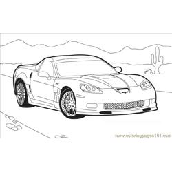 Hotwheel3 Free Coloring Page for Kids
