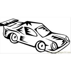 Hotwheel5 Free Coloring Page for Kids