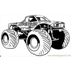 Hotwheel Free Coloring Page for Kids