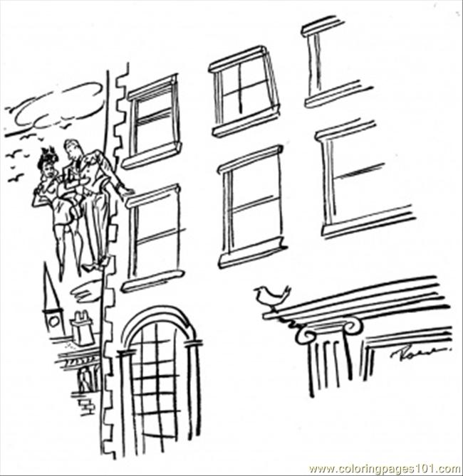 Apartment Building Coloring Page - Free Houses Coloring Pages ...