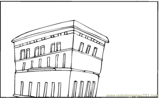 Apartments In The City Coloring Page Free Houses Coloring Pages Coloringpages101 Com