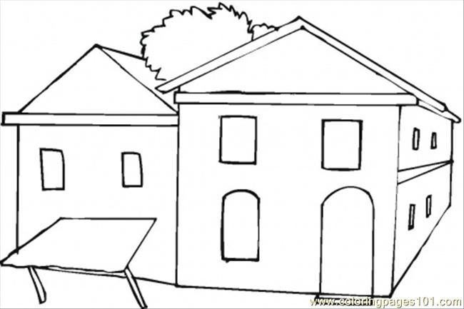 Coloring Pages Homes Stock Illustrations – 3 Coloring Pages Homes Stock  Illustrations, Vectors & Clipart - Dreamstime   433x650