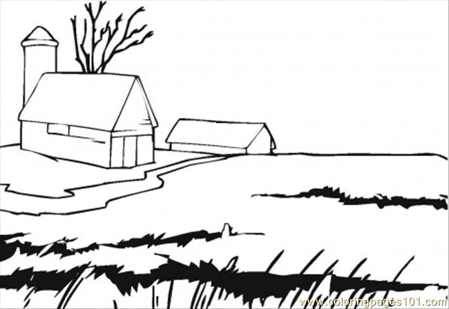 Find Wonderful Farmhouse Coloring Pages You Should Know