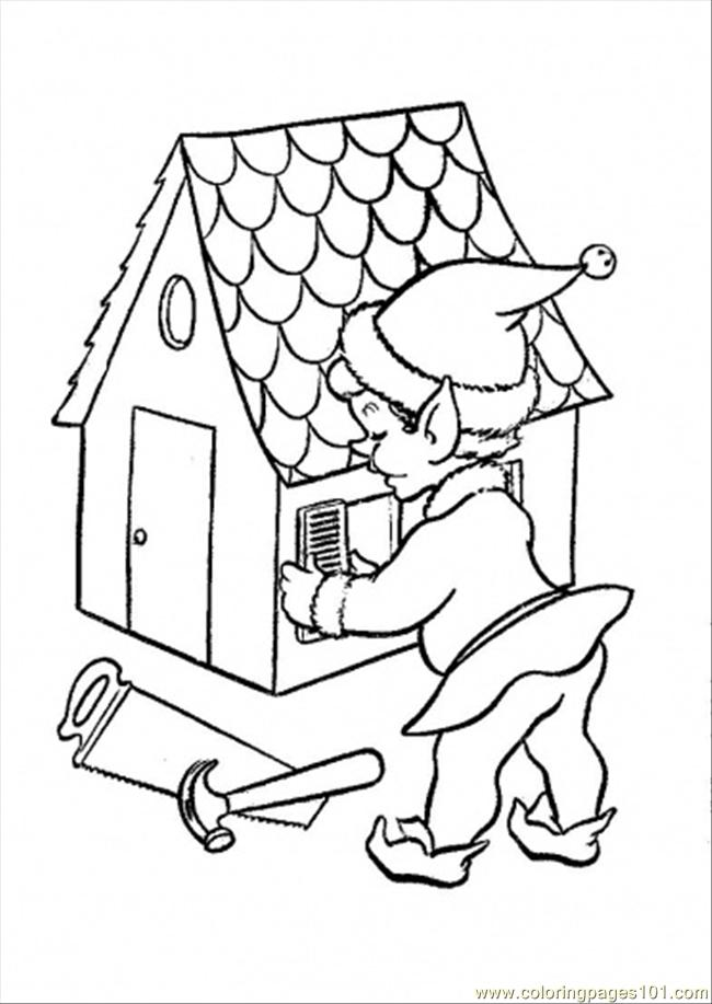 Doll-House-Coloring-Pages | House colouring pages, Coloring pages ... | 917x650