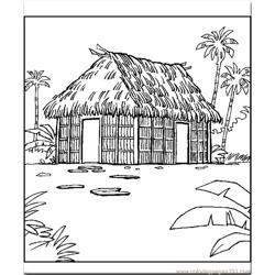 Coloring Pages Buildings 6432 Free Coloring Page for Kids
