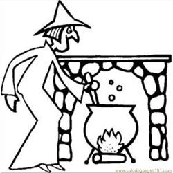 Hallwitchrdax651 1 Free Coloring Page for Kids
