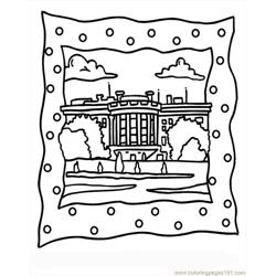 House1 Free Coloring Page for Kids