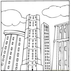 Penthouse coloring page