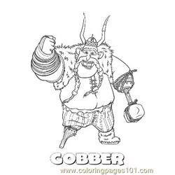 Gobber coloring page