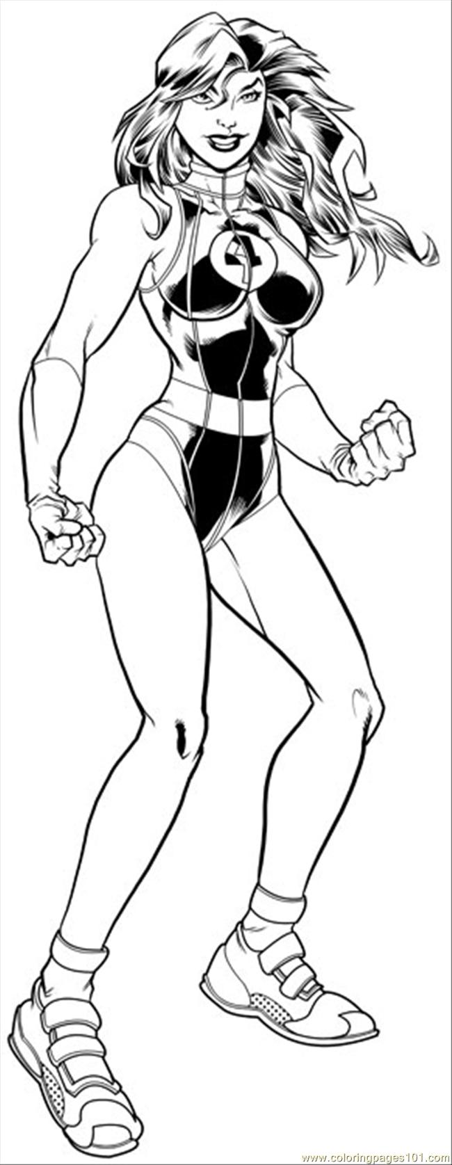 Shehulk Inks R2 Coloring Page - Free Hulk Coloring Pages ...
