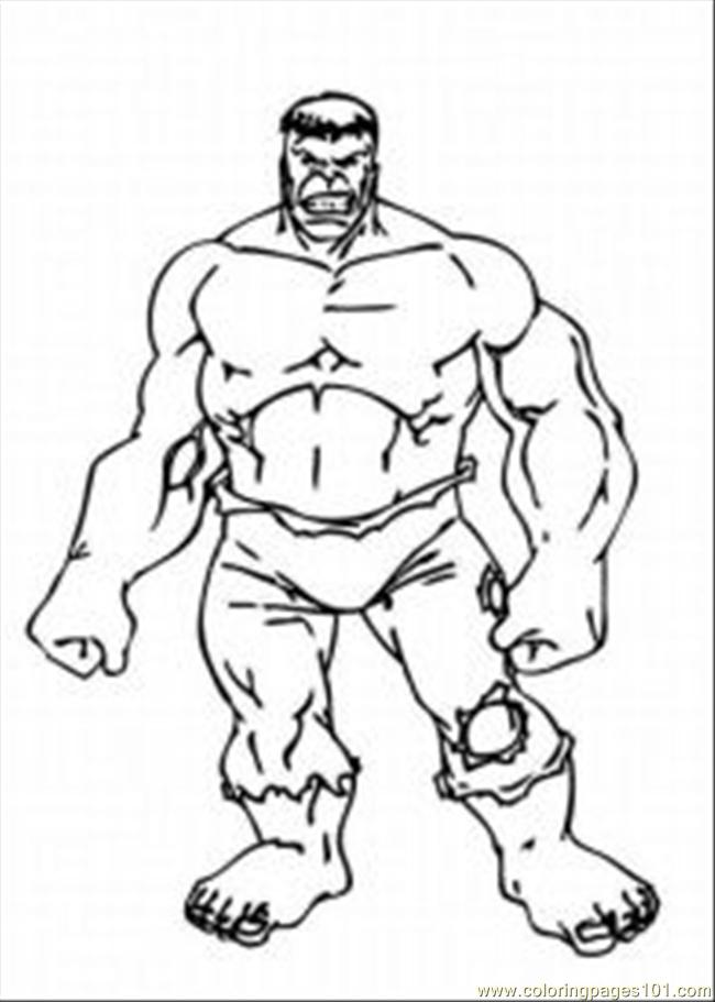 The Hulkmed Coloring Page