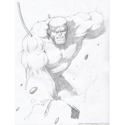 Hulk5 Free Coloring Page for Kids