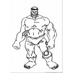 The Hulkmed Free Coloring Page for Kids
