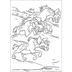 Lionking 97 Free Coloring Page for Kids
