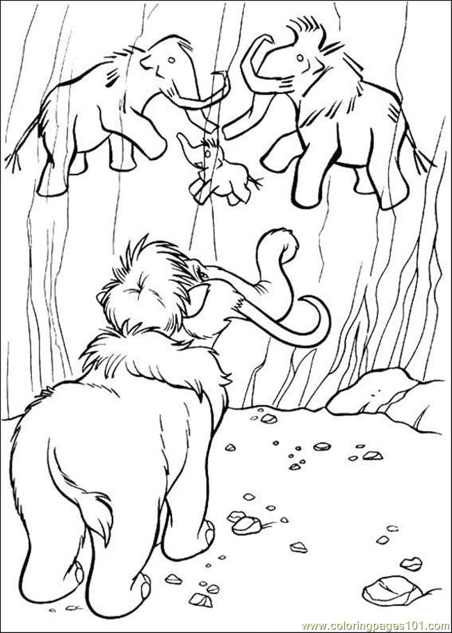 Ice Age 06 Coloring Page