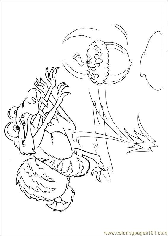 Ice Age Continental Drift 03 Coloring Page Free Ice Age Coloring