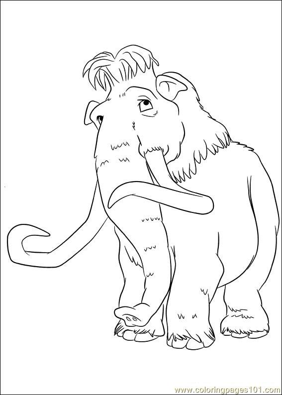 Ice Age Continental Drift 12 Coloring Page Free Ice Age Coloring