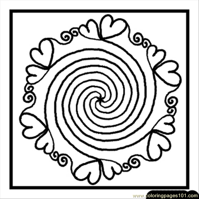Ines Mandalas Coloring Page 4 Coloring Page