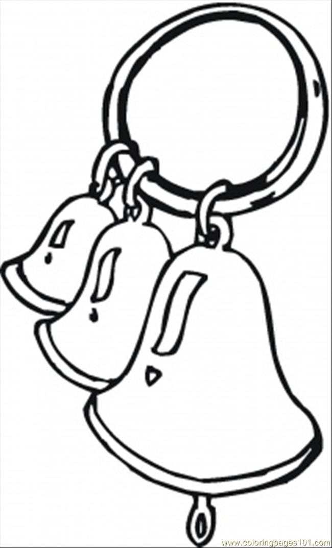 Ring The Bells Coloring Page