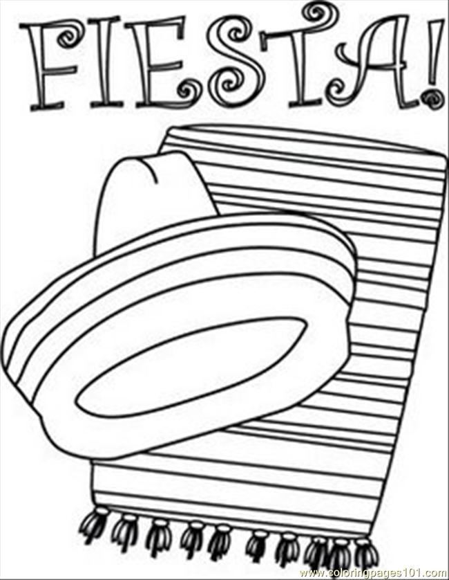 Fiesta coloring books coloring page