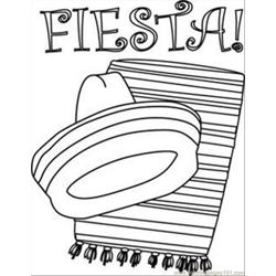 Fiesta Coloring Books
