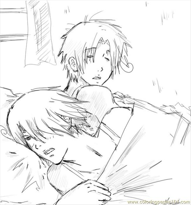 And Italy Sleep By Yuuto014 Coloring Page