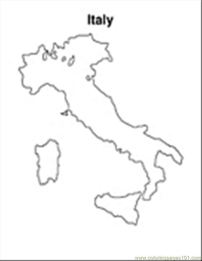 Italy01 Coloring Page