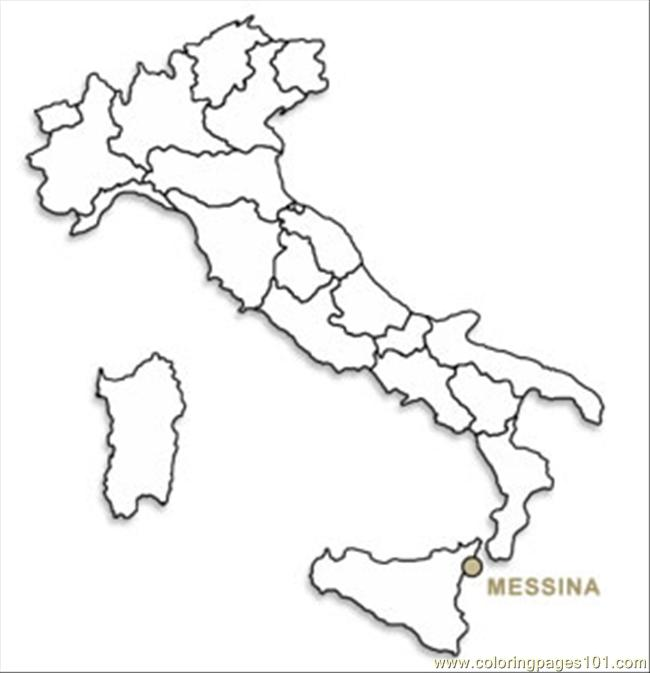 FREE Italy Coloring Pages   673x650